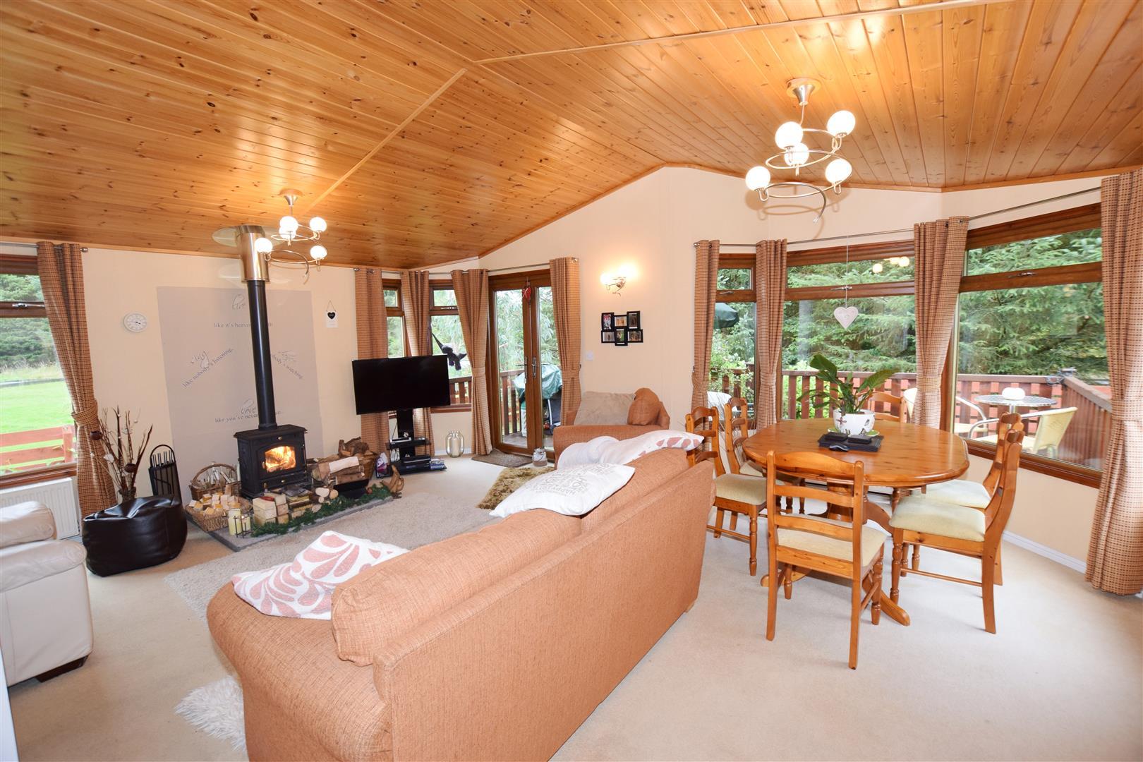 Riverlea Lodge, Glendevon Park, Glendevon, Dollar, Perthshire, FK14 7JY, UK
